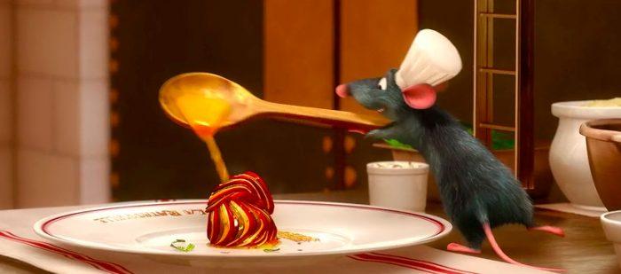 Реми готовит рататуй